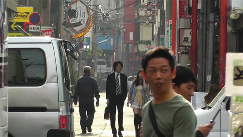 Namba District Osaka Japan 34 Stock Video Footage