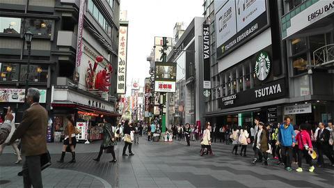 Namba District Osaka Japan 36 Stock Video Footage