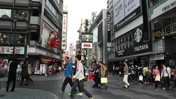 Namba District Osaka Japan 36 Stock Video Footage