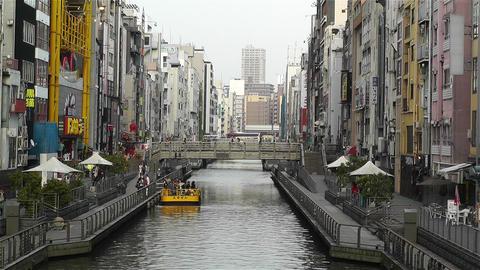 Namba District Osaka Japan 40 Stock Video Footage