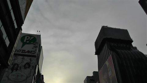 Namba District Osaka Japan 54 pan Stock Video Footage