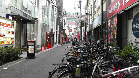 Namba District Osaka Japan 59 Stock Video Footage