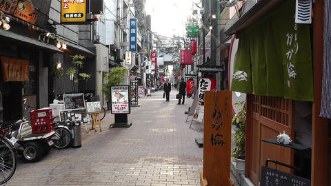 Namba District Osaka Japan 63 Stock Video Footage
