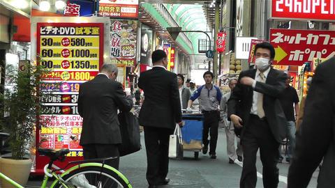 Namba District Osaka Japan 71 Stock Video Footage
