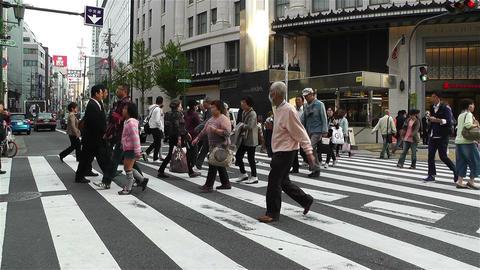 Namba District Osaka Japan 78 Stock Video Footage
