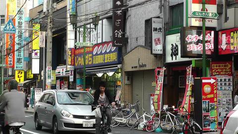 Namba District Osaka Japan 81 Stock Video Footage
