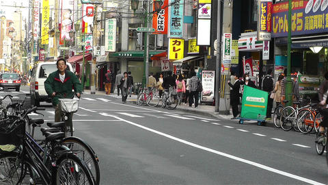 Namba District Osaka Japan 83 Footage