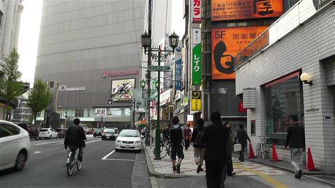Namba District Osaka Japan 87 Stock Video Footage