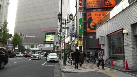 Namba District Osaka Japan 87 Footage