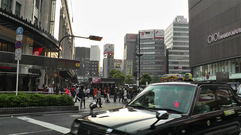 Namba District Osaka Japan 89 Footage