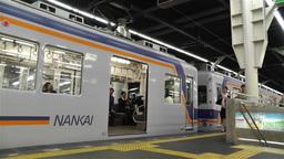 Nankai Namba Station Osaka Japan 1 Stock Video Footage
