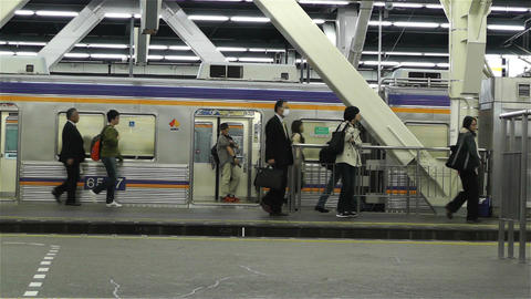 Nankai Namba Station Osaka Japan 3 Stock Video Footage