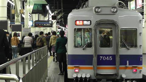 Nankai Namba Station Osaka Japan 5 Stock Video Footage
