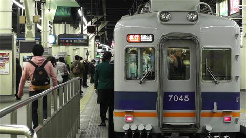 Nankai Namba Station Osaka Japan 5 Footage