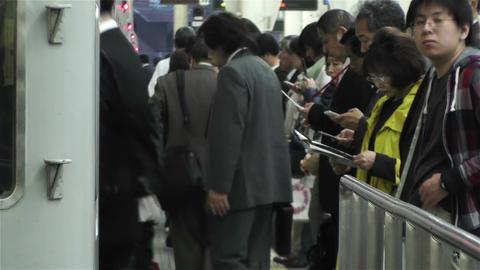 Nankai Namba Station Osaka Japan 10 Stock Video Footage