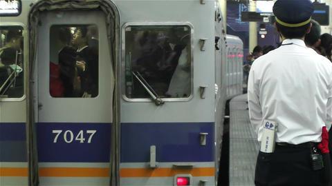 Nankai Namba Station Osaka Japan 12 Footage