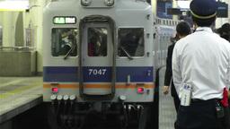 Nankai Namba Station Osaka Japan 12 Stock Video Footage