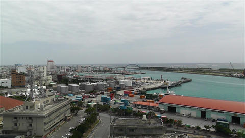 Okinawa Islands Ishigakijima Japan 16 pan Footage