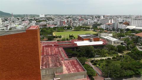 Okinawa Islands Japan 11 pan Stock Video Footage