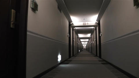 Scary Hotel Corridor 2 pan Animation