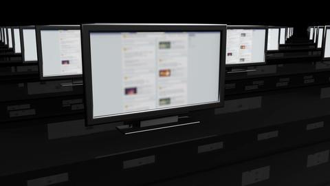 Social Media Spyroom 1 Stock Video Footage