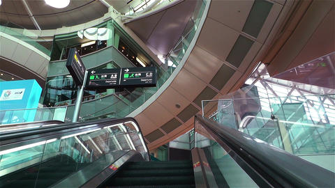 Tokyo Haneda Airport 9 Stock Video Footage