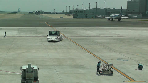 Tokyo Haneda Airport 12 Stock Video Footage