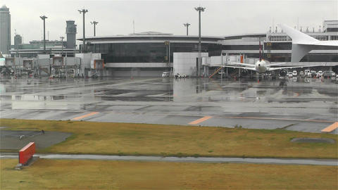 Tokyo Narita Airport 1 Footage
