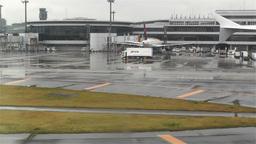 Tokyo Narita Airport 1 Stock Video Footage