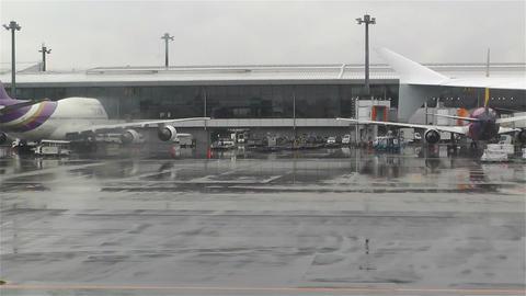Tokyo Narita Airport 3 Footage