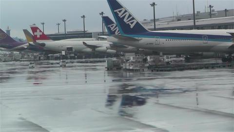 Tokyo Narita Airport 5 Footage