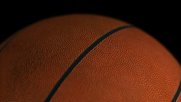 Basketball  Ball  Gyrating  Loop stock footage