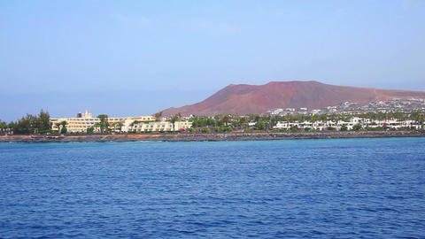 Lanzarote Island, Canary Islands, Spain Stock Video Footage