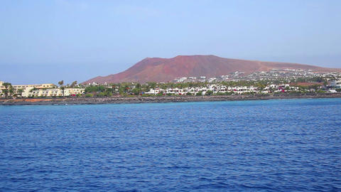 Lanzarote Island, Canary Islands, Spain Footage