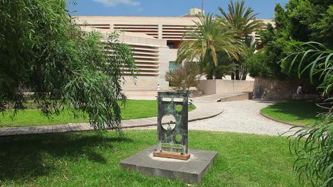 Building of Joan Miro Museum, Palma de Mallorca, Mallorca... Stock Video Footage