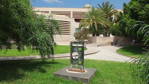 Building of Joan Miro Museum, Palma de Mallorca, Mallorca Island, Spain Footage