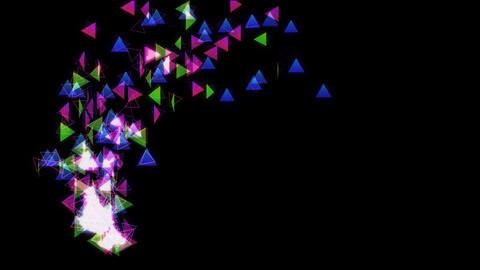 particle 37 3 loop Stock Video Footage