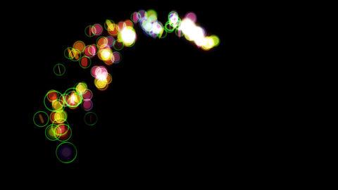 particle 36 loop Stock Video Footage