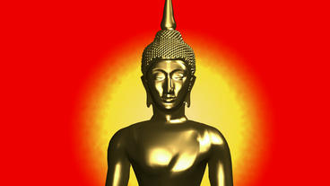 Moving of 3D buddha.buddhism,religion,asia,zen,statue,god,spiritual,sculpture,me Animation