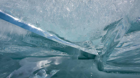 Ice timelapse Stock Video Footage