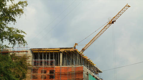 Construction 2012 07 28 Tl 02 HD stock footage