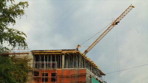 Construction 2012 07 28 tl 02 HD Stock Video Footage