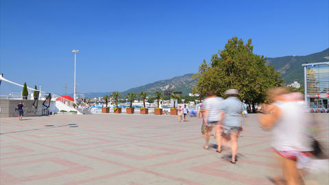 Gelendzhik city day timelapse Stock Video Footage