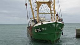 Fishing Trawler 2 Stock Video Footage