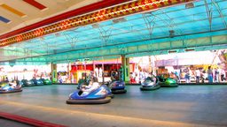 Amusement Park 1 Stock Video Footage