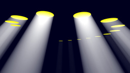 VOLUMETRIC LIGHTS stock footage