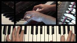 Split Screen Keyboard Stock Video Footage