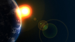 Sun and Earth Animation