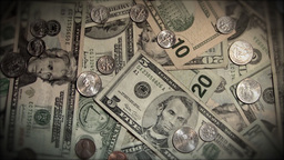 Money Rotate HD Stock Video Footage