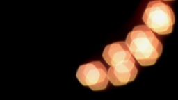 2D Animated Blur Light Curve Animation